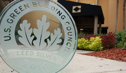 """LEED Silver Award for the Allen Morris """"Center Building"""""""